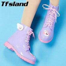 Jelly Cartoon PVC Boots