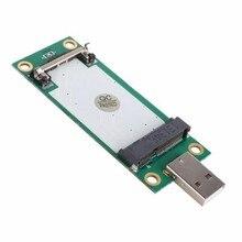 Mini PCI-Express pcie pci express PCI-E Wireless WWAN к Usb-адаптер Карты с SIM Card Slot Модуль Тестирования инструменты