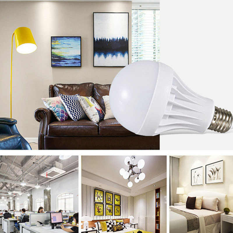 Lampada LED Bulb E27 Bombillas LED Lamp 3W 5W 7W 9W 12W 15W 20W Ampoule LED Light Bulb 220V 110V Cold White/Warm White Spotlight