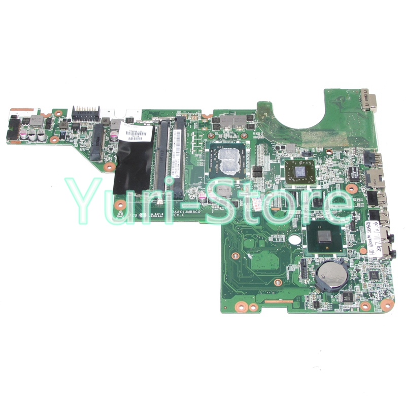 NOKOTION 634649-001 For HP compaq G62 CQ62 Laptop Motherboard i3-350M CPU with HD6300M Video Card for hp g62 g72 laptop motherboard with graphics 615848 001 01013y000 388 g