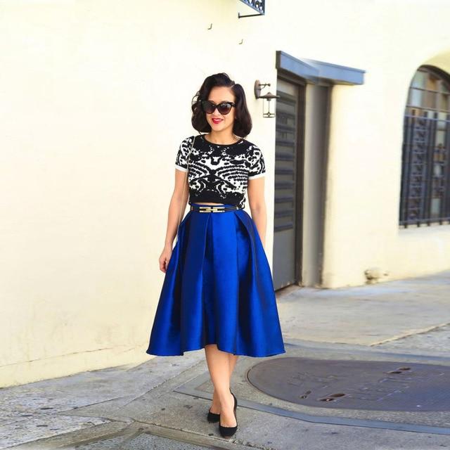 Aliexpress.com : Buy Top Fashion High Quality Women Skirts A Line ...