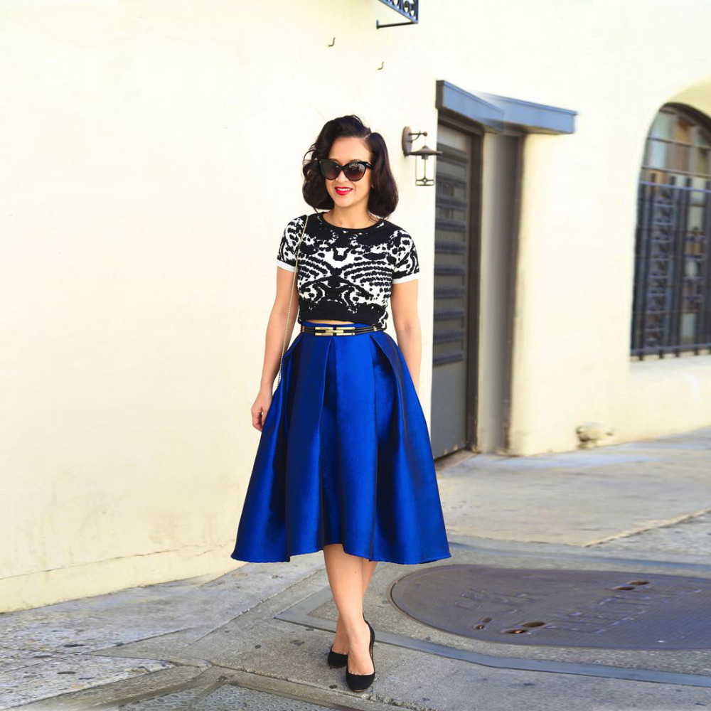 popular royal blue skirts buy cheap royal blue skirts lots