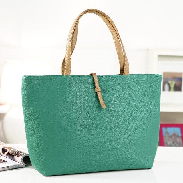 95852326c973 2017 new Womens Faux Leather Fashion Messenger Handbag Lady Shoulder Bag  Totes Purse