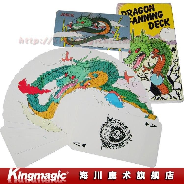 Дракон Фаннинг Палуба(4 цвета)-очень визуальный и необычное карты палуба/фокусы/магический реквизит/магия игрушки/ по CAPM