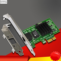 NEW For Intel 82574L Chipset EXPI9301CT 9301CT Gigabit Ethernet Desktop PCIE X1 Network Adapter 10/100/1000Mbps NIC for Computer