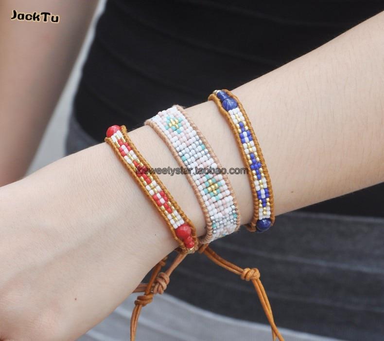 Exclusive Seed Beads Bohemia Weaving Brazilian Bracelet 5