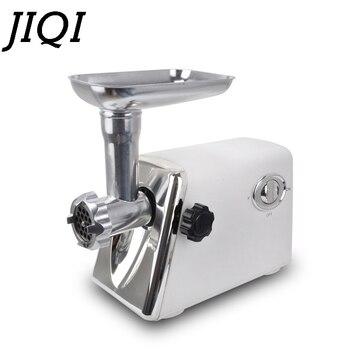 JIQI électrique Hachoir à Viande Coupe-légumes Rectifieuse Saucisse étouffeur Hachoir Broyeur Alimentaire Hachoir Processeur 110 V 220 V