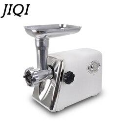 JIQI Electric Meat Grinder Vegetable Cutter Grinding Machine Sausage Stuffer Mincer Shredder Food Chopper Processor 110V 220V