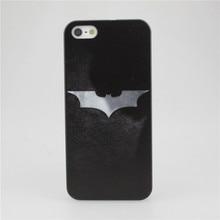 Silver Batman Phone Case for Apple iPhone