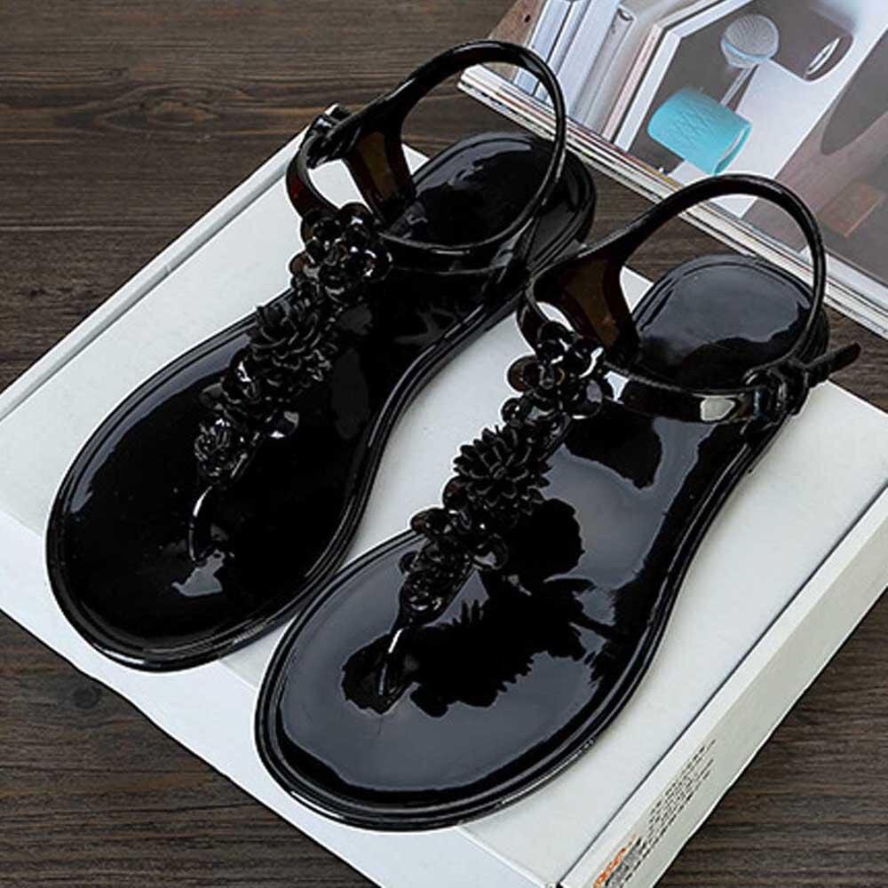 Fashion Sandals Women Flat Shoes Bandage Bohemia Leisure Lady Casual Sandals Peep-Toe Outdoor Chaussures Femme Ete