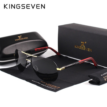 Men Vintage Aluminum Polarized Sunglasses Classic Brand Sun glasses 1