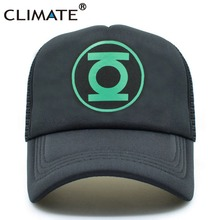 CLIMATE Green Lantern The Big Bang Theory Fans Baseball Cap Hero Mesh  Trucker Caps 758f6dc8222