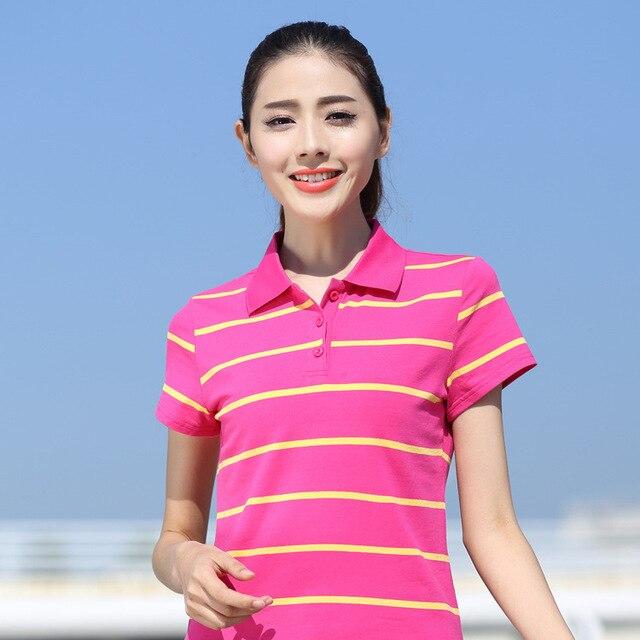 Women Polo Shirt Plus Size...