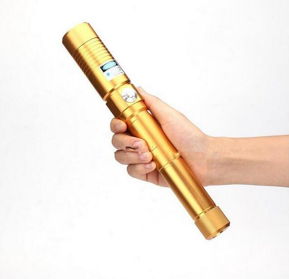 High Power Blue Laser 450nm 500000mw Pointer Pen Adjustable Visible Beam Burn Match Wood Light Cigarette