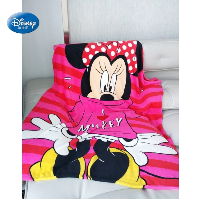 Disney Hot Pink Minnie Mouse Girls Coral Fleece Blanket Super Soft for  Toddler Children Girls Birthday Gift 120x150cm bc5d6c621