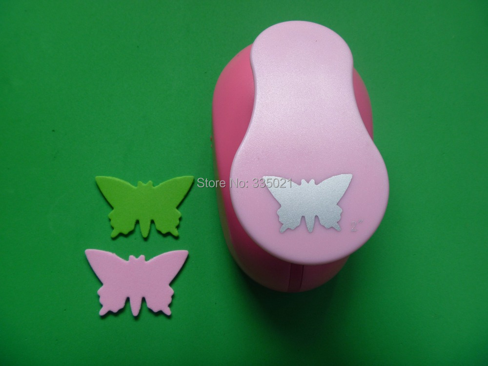 2(5.0cm) butterfly EVA foam punch craft punch DIY punch greeting card handmade puncher Scrapbook  puncher free shipping