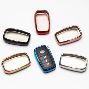 Image 2 - TPU Remote Car Key Case Cover For Toyota Chr C hr Land Cruiser 200 Avensis Auris Corolla Key Chain Case Accessories