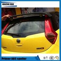 ABS Primer Unpainted Farbe Hinten Dach Spoiler Fit Für MG3