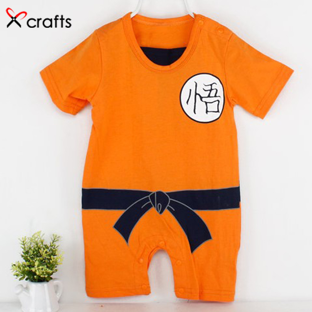Summer Pure cotton Sun Wu kong baby clothes boy girl short sleeved Jumpsuit baby clothes
