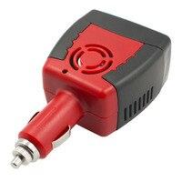 1 stks sigarettenaansteker Voeding 150 W 12 V DC naar 220 V AC auto Omvormer Adapter met USB Charger Poort Drop Verzending ~