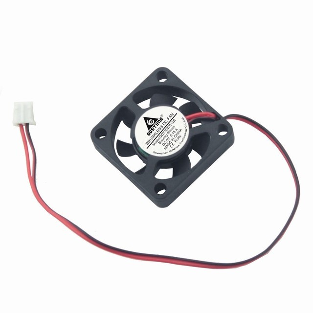 Gdstime 1 Piece 5V 2pin 30x30x7mm 30mm x 7mm Small Equipment Brushless DC Cooling Cooler Fan 30x30x7mm 2Pin 2.0