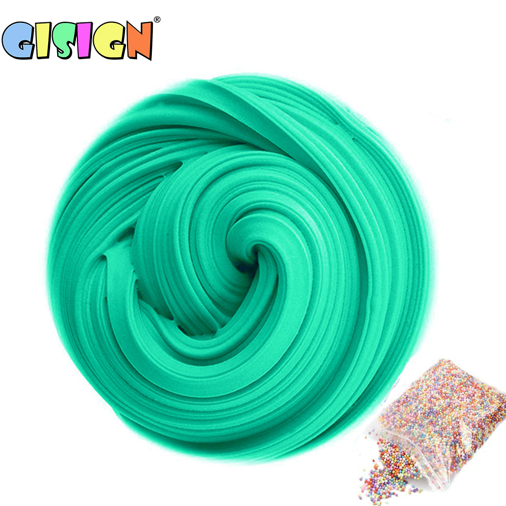 Modeling Clay Slime Modeling Clay Mix Color Diy Fluffy Foam Toys Dynamic Creative Anti Stress
