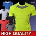 2015 nueva camiseta de manga corta ropa deportiva casual clothing secado velocidad de protección solar m-2xl