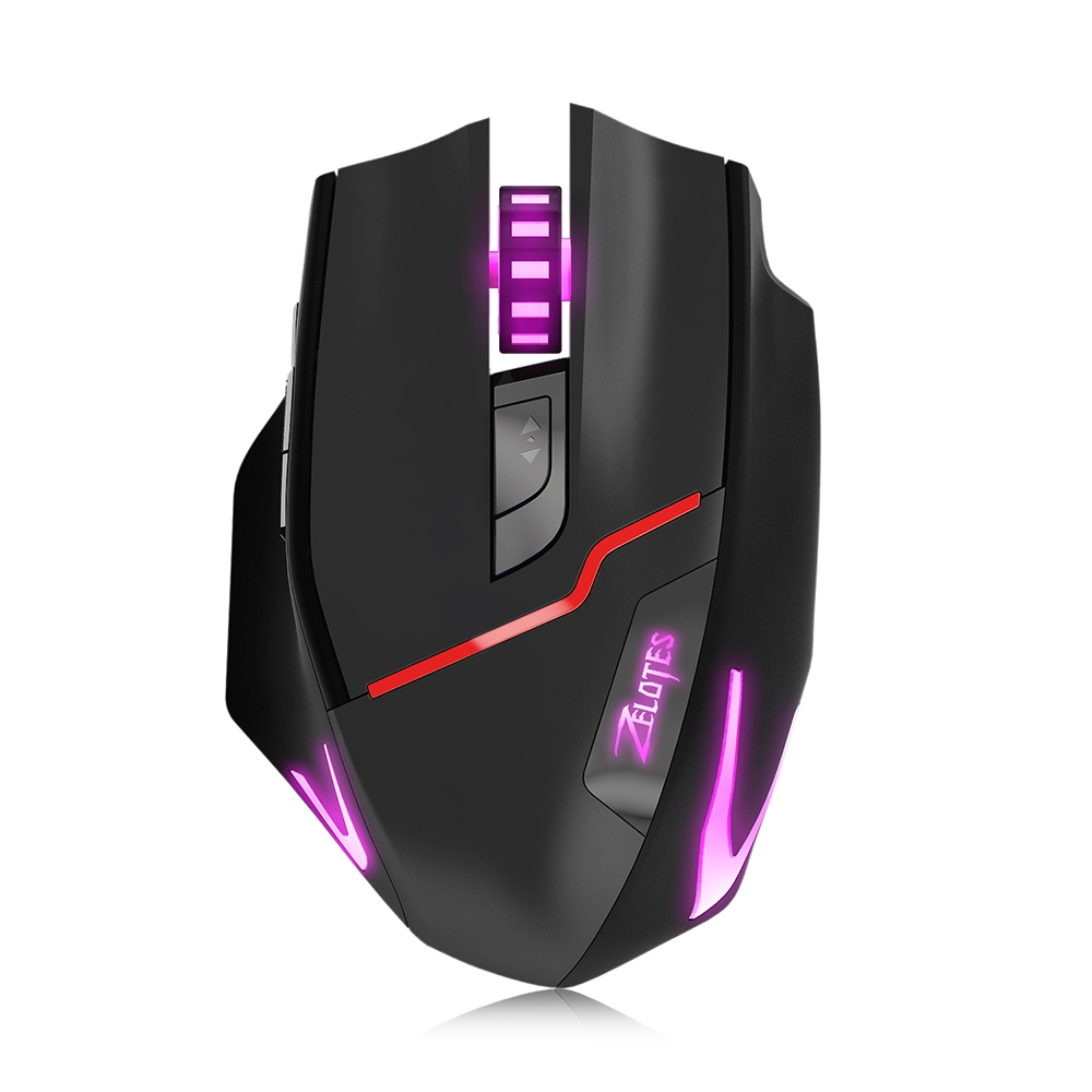 Professional Wired&Wireless Gaming Gamer Mouse 7 Button 3200DPI LED Optical Pro Gamer Computer Mice Mouse For Gamer High Quality свитшот print bar pro gamer