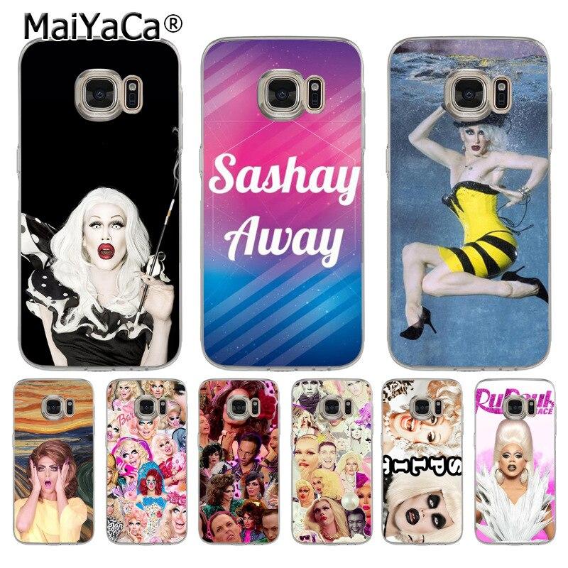 MaiYaCa sh4679 RuPaul's Drag Race transparent soft tpu Cell Phone Case for samsung galaxy s8 s7 edge s6 edge plus s5 s9 case