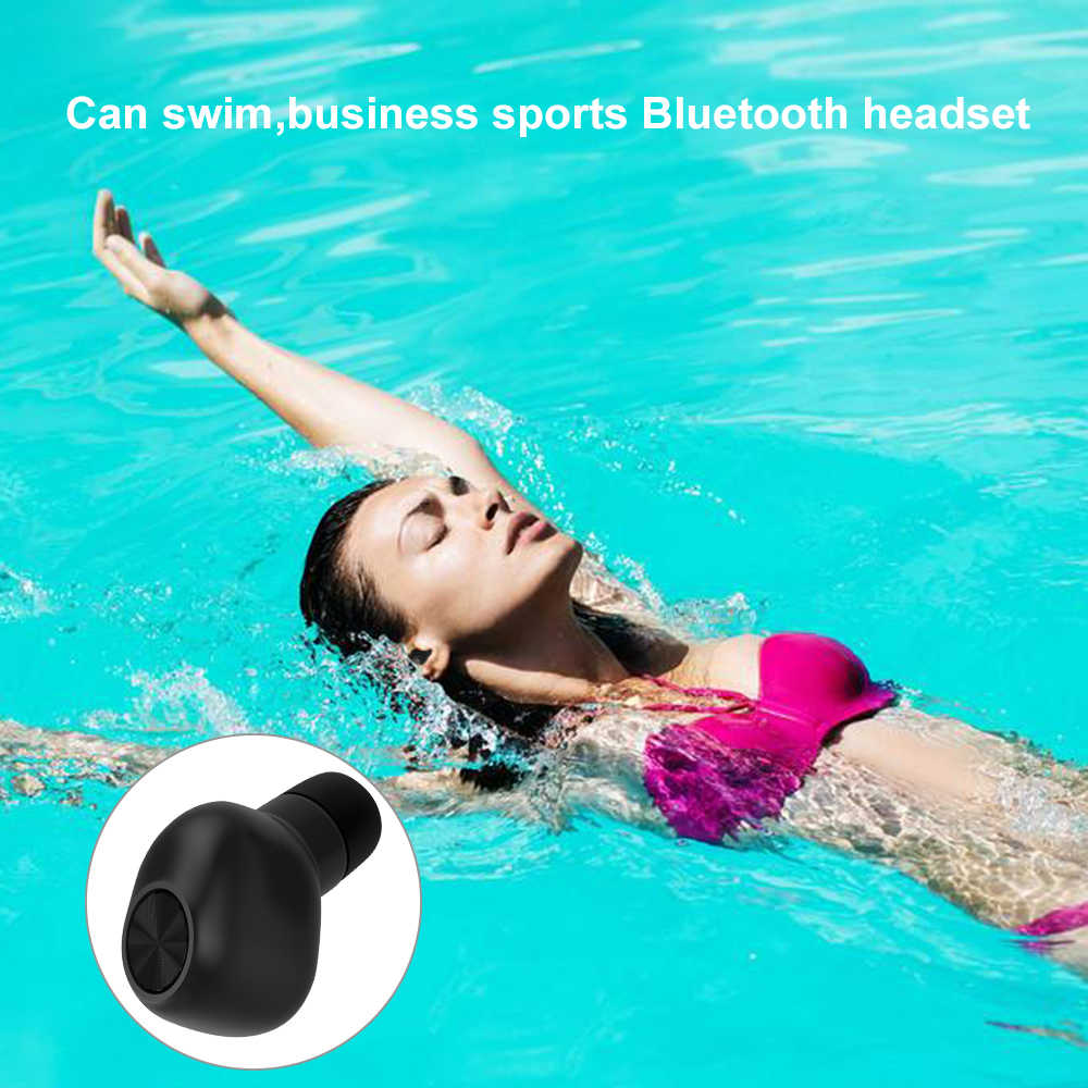 7d2933b51cc ... High Quality Waterproof TWS Mini Earphones Wireless Earbuds Bluetooth  Headphones Wireless Headset For Swimming With Charging ...