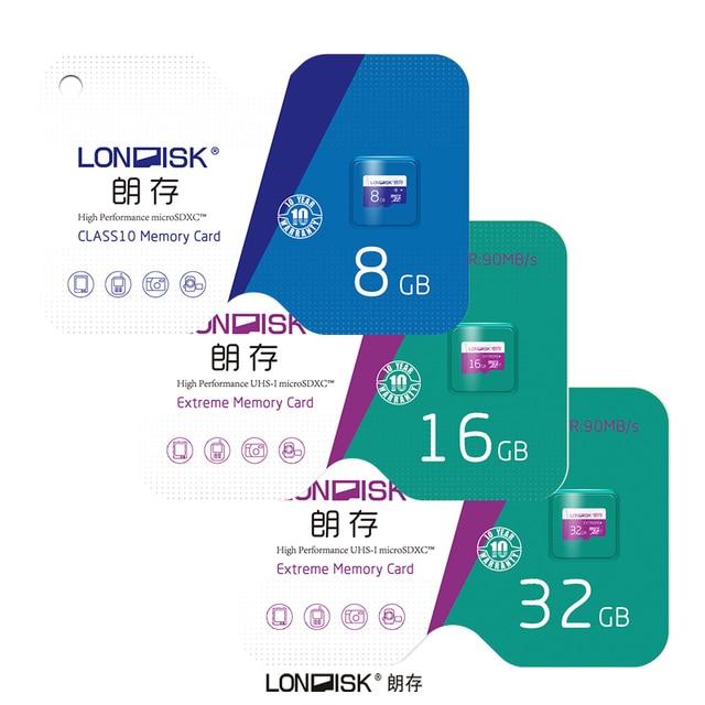 Londisk MicroSD Card 32GB 64GB 128GB Class10UHS1 200GB Memory Card Flash Memory Card  Micro sd TF Card for Smartphone Pad Camera