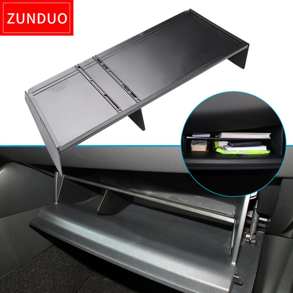 ZUNDUO Car Glove Box Interval Storage For TOYOTA C-HR 2016 2017 2018 2019 CHR Storage Console Tidying Box Central Storage Box(China)