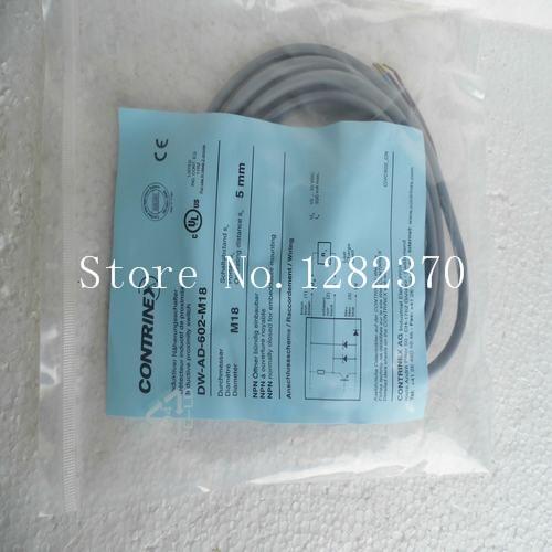 [SA] New original authentic special sales CONTRINEX sensor switch DW-AD-602-M18 spot --5PCS/LOT new original dw ad 601 065 121 dw ad 602 065 121