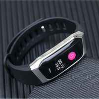 E18 Smart Fitness Bracelet Heart Rate Monitor Sport Smart Wristband For iOS Android Fitness Tracker Smart Band Relogio