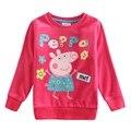 Мода 2-6 Т дети пальто, Все для детей одежда и аксессуары blusas camiseta, nova бренд роза красная девушка майка