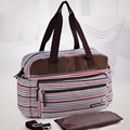 insular New Baby Diapers Bags Striped Fashion Mummy Handbag Shoulder Messenger Multifunctional maternity Bags Baby Stroller Bag