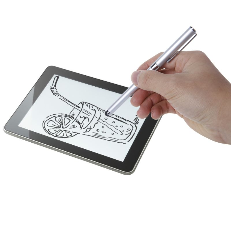 Capacitieve Pen Balpen Klik Hand Schrijven Portable voor iPad