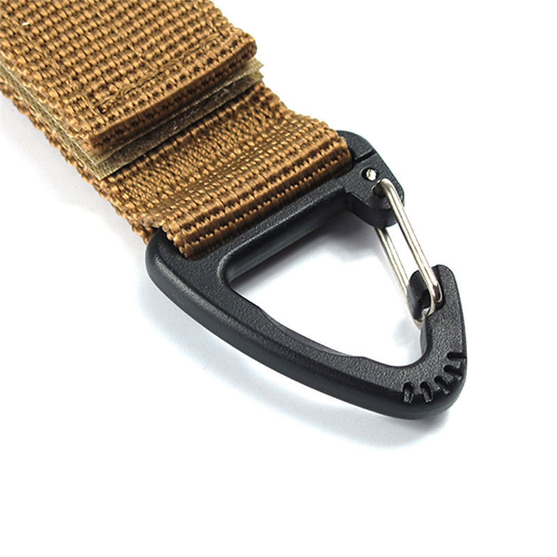 Image 5 - Carabiner High Strength Nylon Tactical Backpack Key Hook Webbing Buckle Hanging System Belt Buckle Hanging Outdoor Tools-in Outdoor Tools from Sports & Entertainment