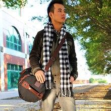 2016 Hot Large capacity man travel bag luggage backpack canvas bucket shoulder bag PT708