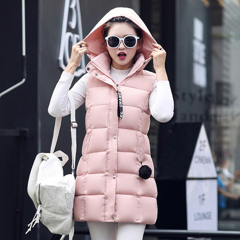 Pregnant women jacket 2017 high quality winter new style cotton in the long section of women's hooded cotton coats sky blue cloud removable hat in the long section of cotton clothing 2017 winter new woman