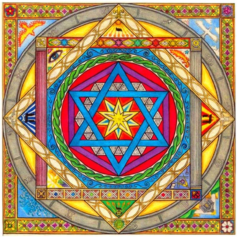2018 New Diy 5D Resin Diamond Cross Stitch Full Diamond Embroidery Religious Pattern Rhinestone Fresco New Year Decoration