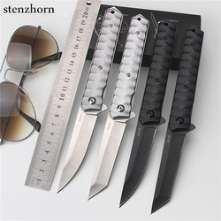 Stenzhorn 2017 hot sale outdoor fruit knife folding self defense wilderness survival spring steel wild small.jpg 250x250