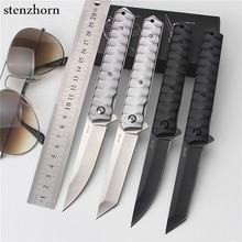 Stenzhorn 2017 Hot Sale Outdoor Fruit Knife Folding Self-defense Wilderness Survival Spring Steel Wild Small for Sharp Knives