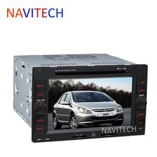 Car DVD Player GPS Navigation System For PEUGEOT 307 2004 2005 2006 2007 2008 2009 2010 2011 2012 BT RDS Ipod
