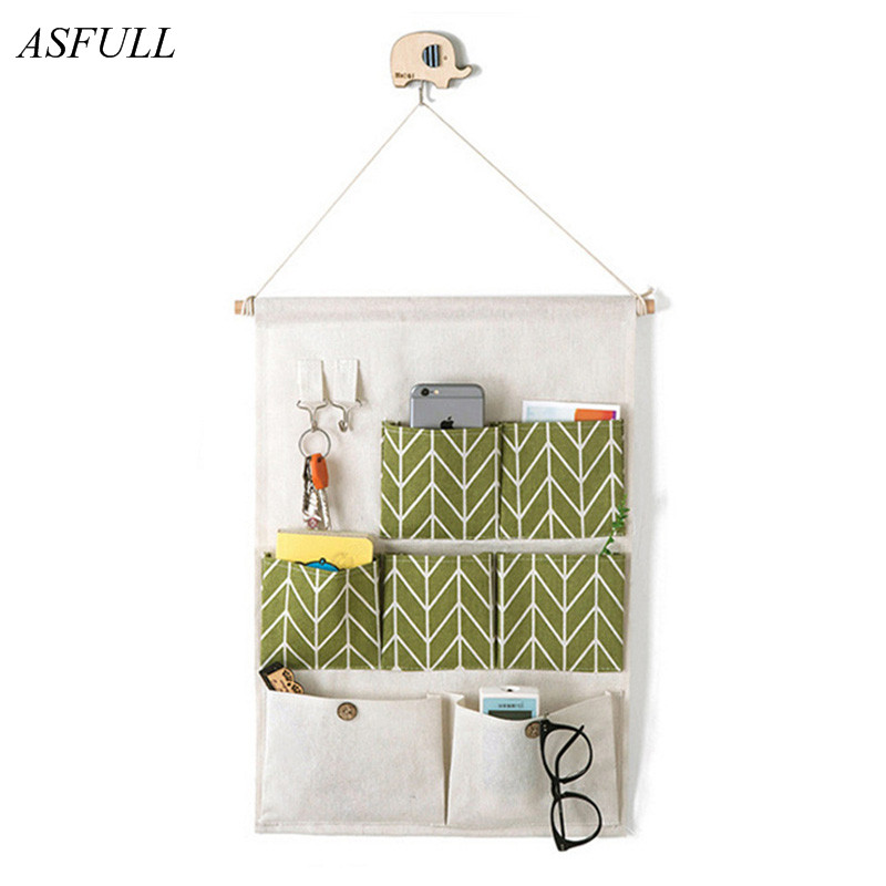 Holder Home Hanging Organizer Wall Storage Bag Sundries Supplies Dorm Room