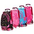 Rolling Backpacks School Bagpack Sac a dos Children Bags Bolsa Infantil School Bags for Girls Schoolbag Back to School Backpacks
