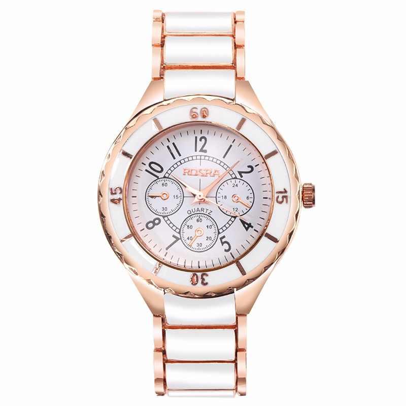 e90919643e02 Hot Sale Rose Gold Watch Women Watches Luxury Women's Watches Fashion  Bracelet Ladies Watch Clock montre