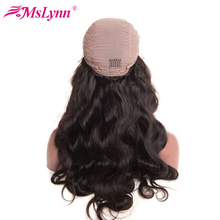 Mslynn Hair Lace Front Human Hair Wigs For Black Women Malaysian Body Wave Wig With Baby Hair 8″-24″ Pre Plucked Non Remy Hair