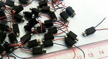 Free shipping 1200pcs Mini pager Vibrating Vibrator Micro mobile Motor 4mm x 8mm Vibration Pager diameter