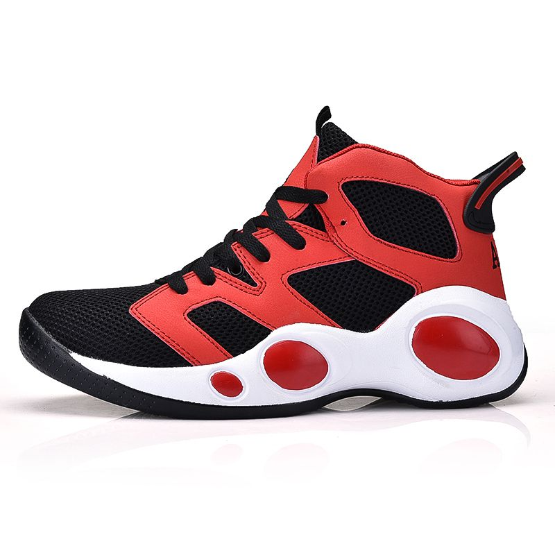 Sufei New Arrival Men Basketball Shoes Breathable Air Cushion Outdoor Sport Boots High Top Basketball Culture Sneakers цена
